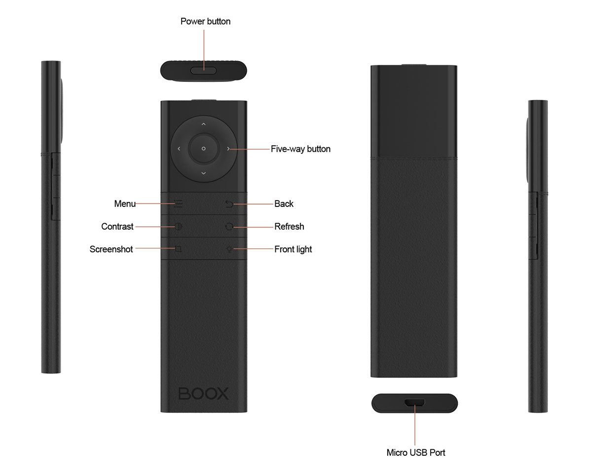 Kontroler Bluetooth - przyciski